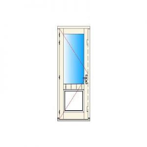 Buitendraaiend deurkozijn